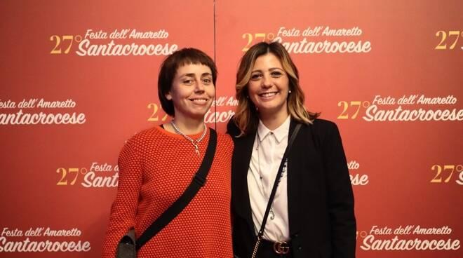 Zhanna Kadyrova e Giulia Deidda a Villa Pacchiani con Animalier