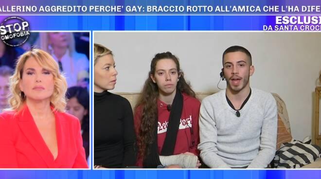 aggressione omofoba parla il ballerino in tv
