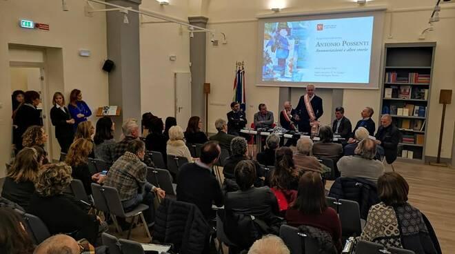 Alessandro Tambellini Antonio Possenti mostra Firenze Consiglio Regionale