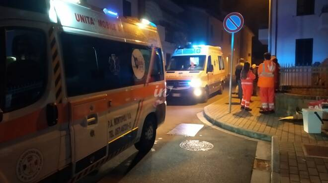 ambulanza 118 san romano notte 29 gennaio 2020