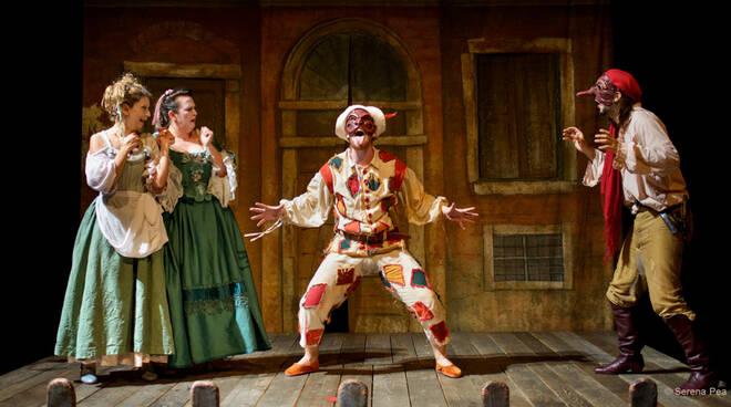 Arlecchino Furioso teatro dei Rassicurati di Montecarlo