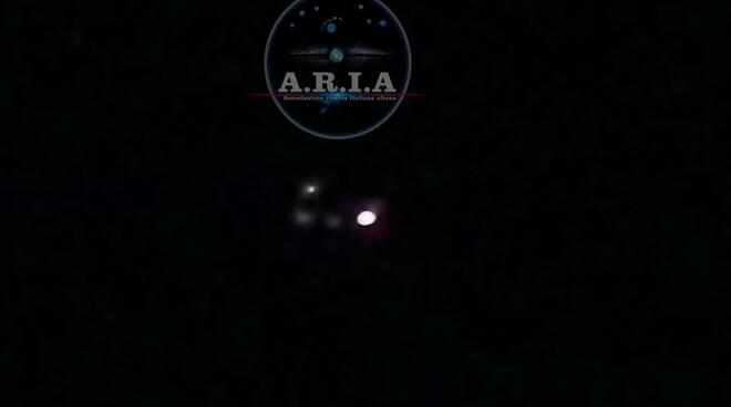 avvistamento Ufo Capannori gennaio 2020