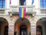 bandiera rainbow al Comune di Altopascio