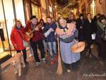 Befana a Lucca in via Fillungo