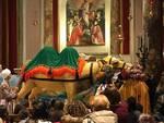cammello in cartapesta opera di Sandro Deidda e del carnevale