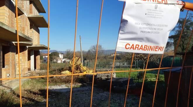 cantiere corte Marchetti Altopascio incidente lavoro
