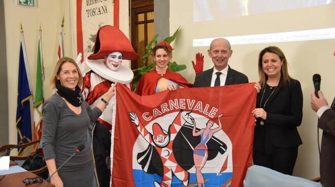Carnevale 2020 presentazione Regione Viareggio