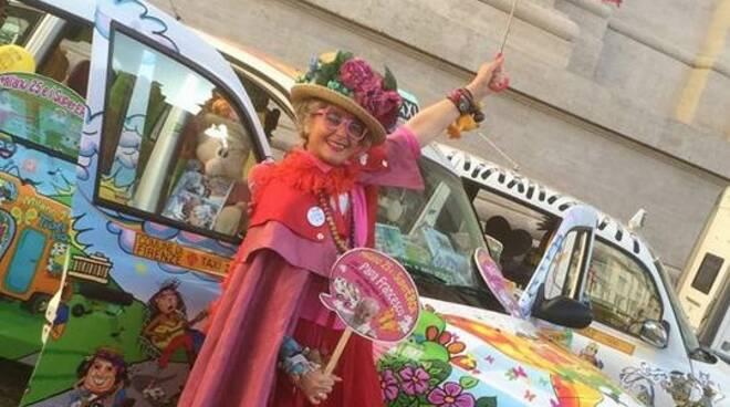 Caterina Bellandi Taxi Milano 25 zia caterina bambini
