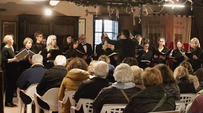 coro concerto San Macario in Piano Manuel Del Ghingaro