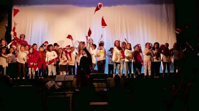 Coro voci bianche concerto beneficenza Sala Tobino