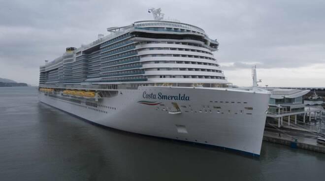 costa smeralda nave inaugurazione