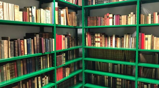 Croce Verde inaugurazione biblioteca Lucca