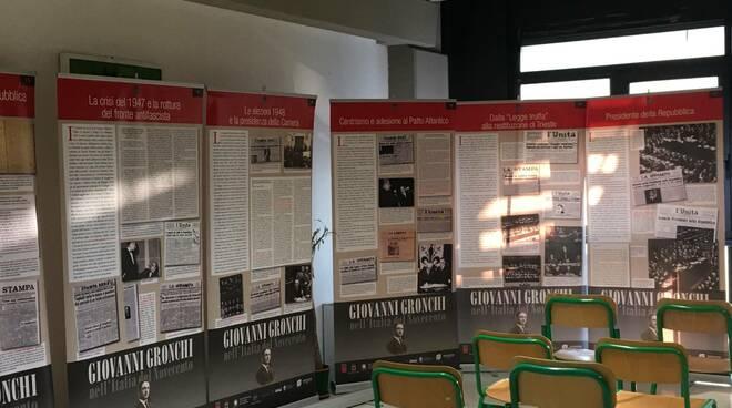 Da Pontedera al Quirinale: Giovanni Gronchi nell'Italia del Novecento mostra al liceo marconi di san miniato