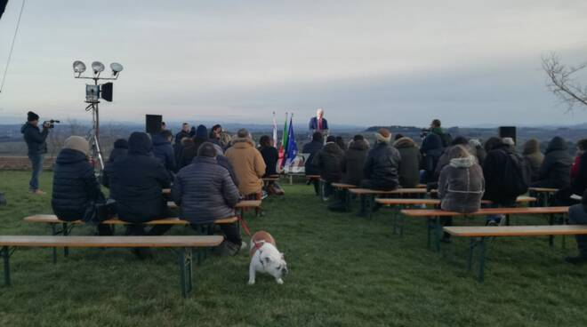 Eugenio Giani da San Miniato verso la Toscana 2020