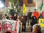Fiaccolata per la pace e contro la guerra organizzata dal movimento Shalom a Fucecchio