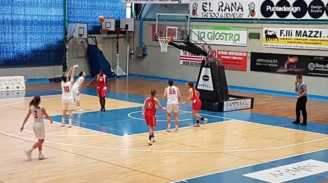 Firenze Le Mura Spring pallacanestro serie B finale Coppa Toscana
