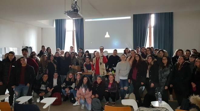 Fortunato Menichetti nonno partigiani all'Isi Pertini di Lucca
