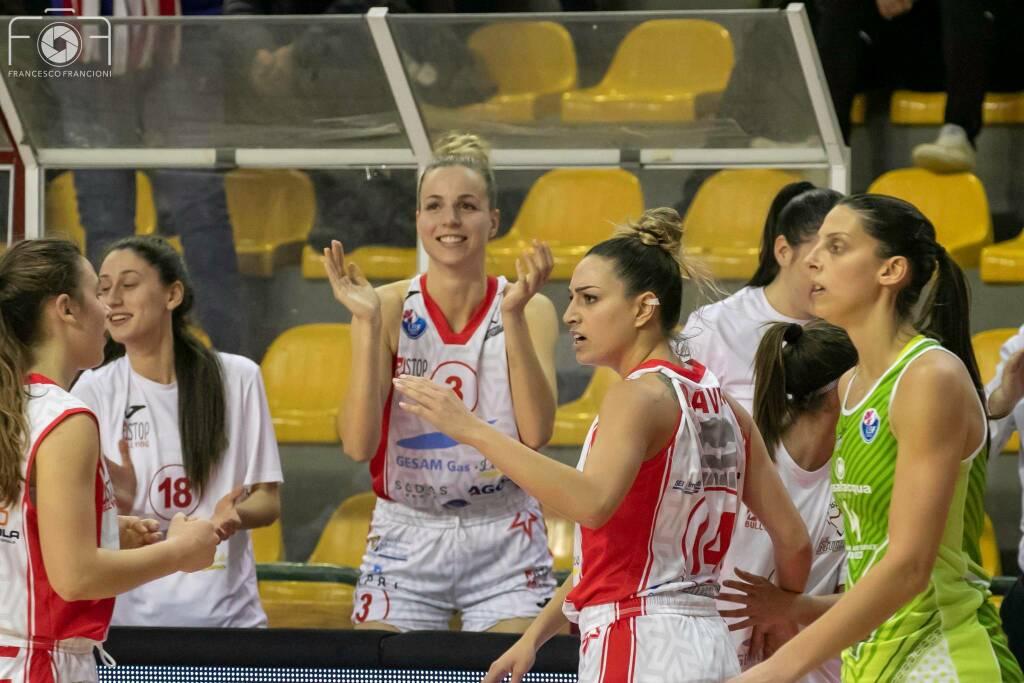 Gesam Gas Lucca Passalacqua Ragusa basket serie A1 femminile