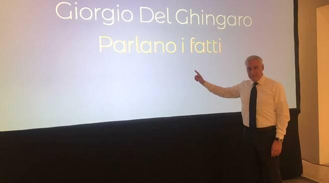 GIorgio Del Ghingaro Viareggio candidatura elezioni 2020
