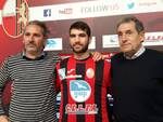 Giorgio Lionetti centrocampista Lucchese dal Rimini