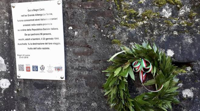 Giornata della memoria Bagni di Lucca
