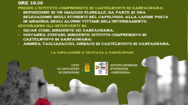 giorno della memoria a Castelnuovo