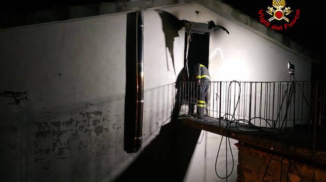 Incendio a Borgo a Mozzano