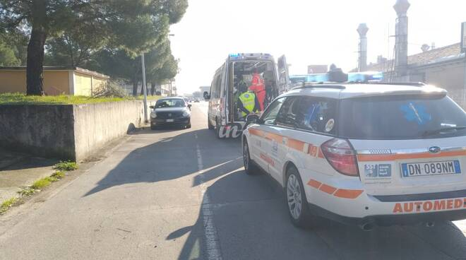 Incidente a Santa Croce sull'arno 118 ambulanza e automedica