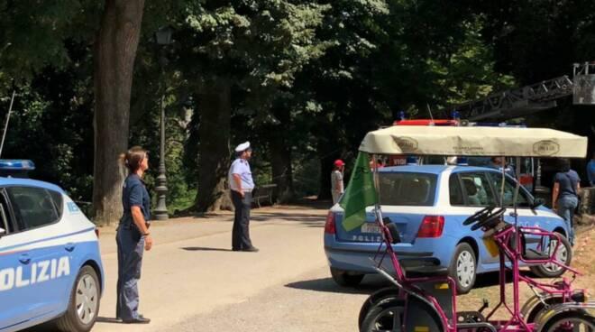 incidente mura di Lucca agosto 2018
