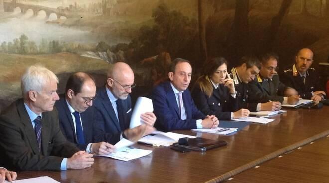 incontro prefettura sicurezza stradale Lucca dati mortalità
