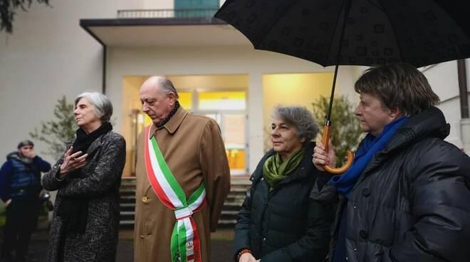 Intitolazione di due olivi al liceo Vallisneri