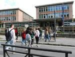 Ite Carrara ingresso studenti Lucca foto fornita dalla scuola l'11 gennaio 2020