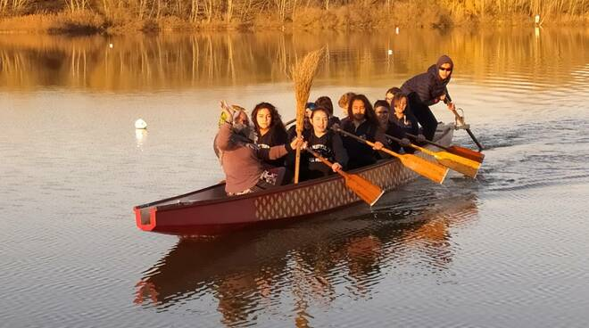 La Befanata al Lago di Roffia 6 gennaio 2020