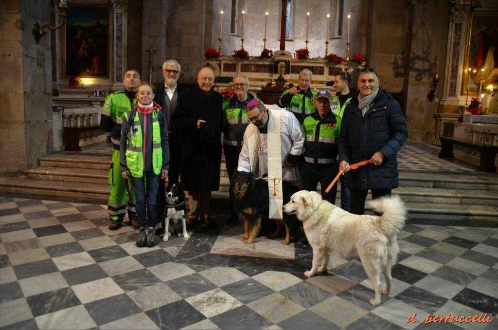 La benedizione degli animali vescovo Anpana 2020