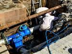 lavori condotta idrica via Poggio Baldino Montecarlo