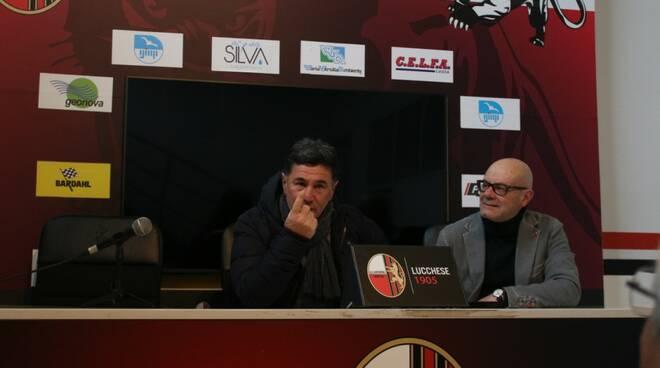 Lucchese Francesco Monaco conferenza stampa