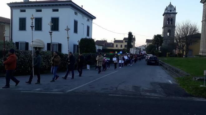 Marcia della pace a San Leonardo in Treponzio 1 gennaio 2019