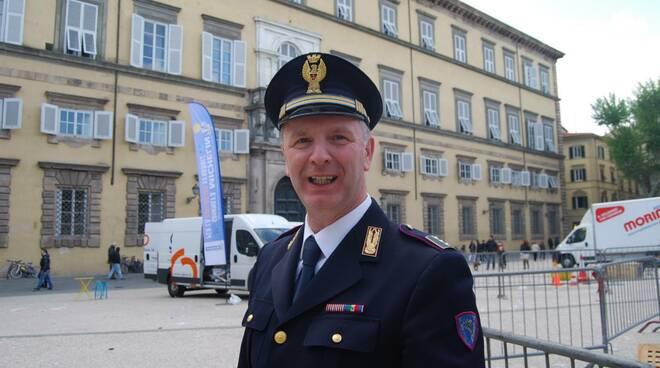 Massimo Chiocca Polstrada di Lucca pensione ispettore