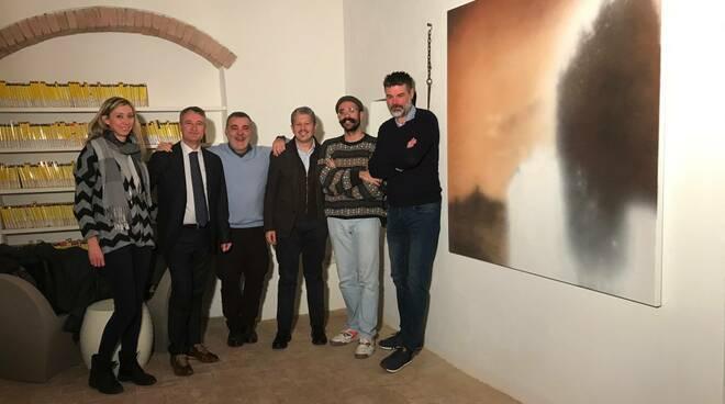 Muz Samuel Rosi ha donato un'opera alla biblioteca di San Miniato