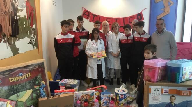 Pediatria doni Atletico Lucca