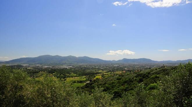 piana di Lucca veduta