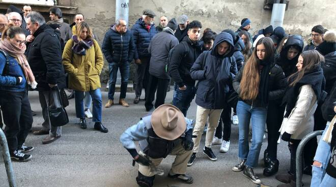 pietra d'inciampo vittime nazismo fascismo Lucca