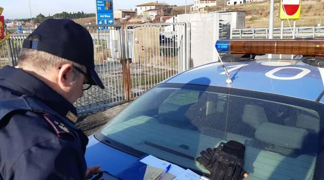 polizia stradale siena
