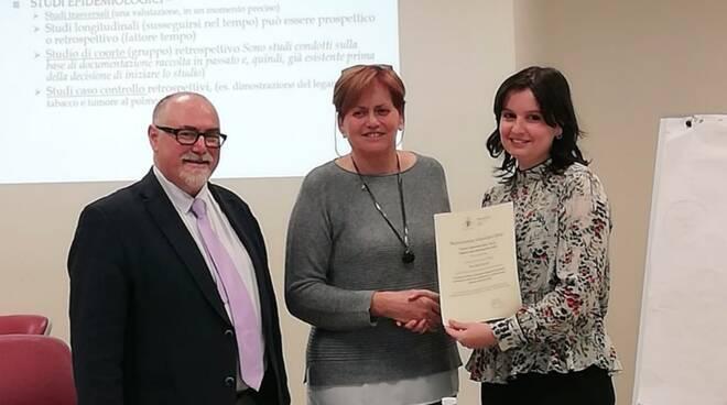 premiazione tesi infermieristica Asl Toscana Nord Ovest