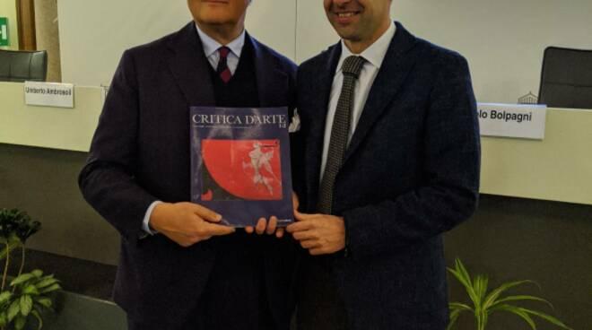 presentazione Critica d'arte a Milano