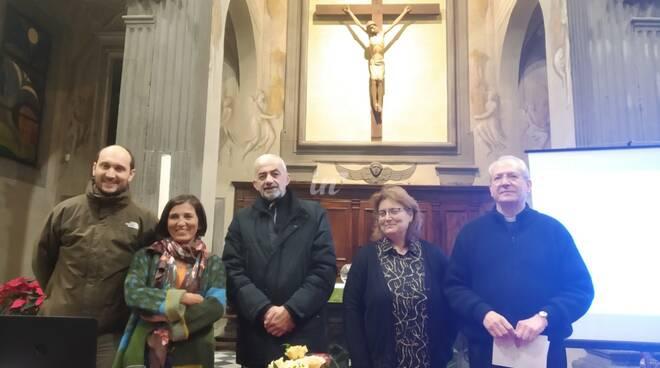 presentazione della nuova chiesa di Ponticelli intitolata a cristo salvatore a Santa Maria a Monte