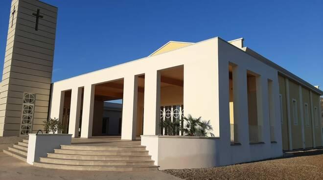 presentazione della nuova chiesa di Ponticelli nel comune di Santa Maria a Monte