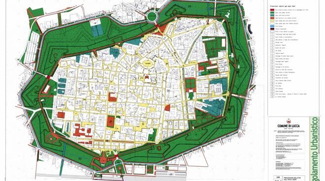 regolamento urbanistico di Lucca piano operativo intervento Sonnenfeld
