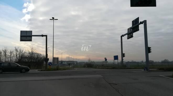 rotatoria via usciana via francesca montefalcone castelfranco di sotto
