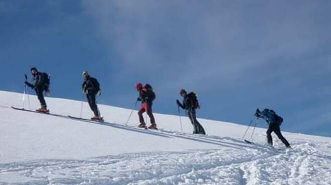 Sci alpinismo corso Cai